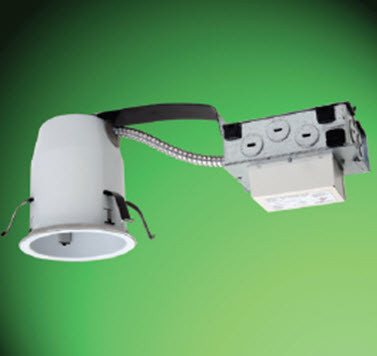 Halo 4 led recessed remodel housing non insulated ceiling la halo 4 led recessed remodel housing non insulated ceiling aloadofball Images