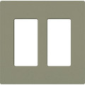 Lutron SC-2 Satin Colors Wallplate - Double Gang