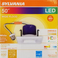 "Sylvania - 4"" 9W LED RT4 Quad Kit Retrofit Downlight Dimmable 90-CRI 600-Lumens 3000K Smooth Reflector & Trim White"