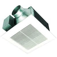 "'Panasonic 80 CFM WhisperCeiling Mounted Bathroom Fan for 4"" Duct"
