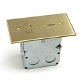 'SWB-2 Brass  (Duplex Receptacle with Box)'
