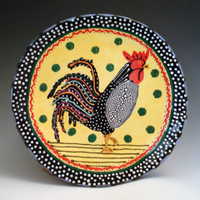 Rooster Plate 006