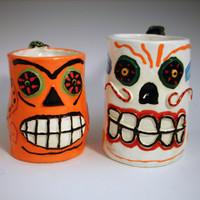 Skull Mugz132 Set of 2