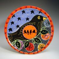 Blackbird Platter016