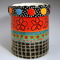 Kitchen Colors Utensil Container 05