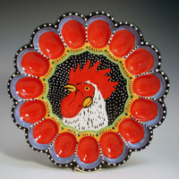 Rooster Eggdish 1