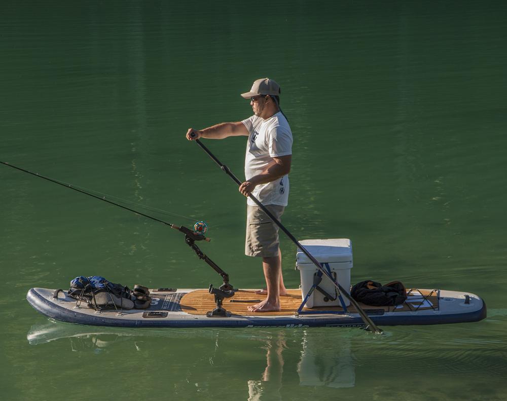 AquaGlide Blackfoot Angler SUP