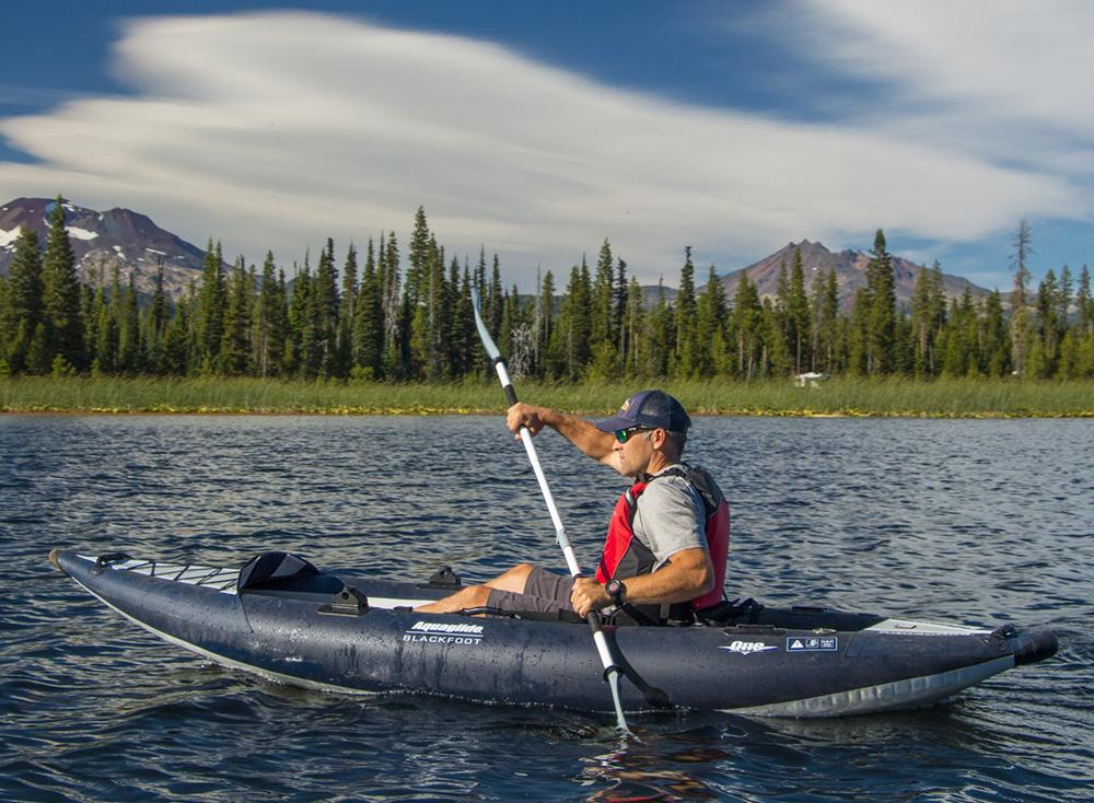 AquaGlide Blackfoot Angler SL Inflatable Kayak