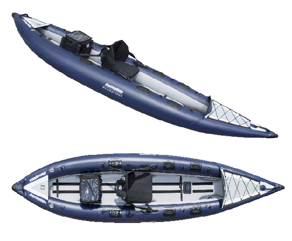 Sneak Preview Blackfoot Hb Inflatable Fishing Kayak From