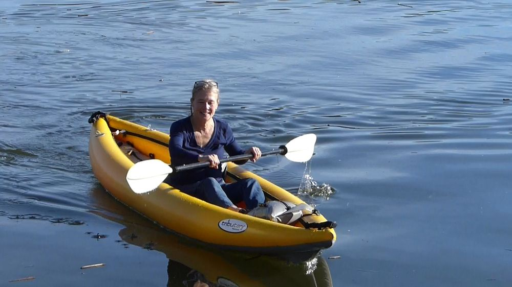 Aire Tributary Sawtooth Inflatable Tandem Kayak
