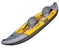 Advanced Elements Island Voyage kayak in yellow.
