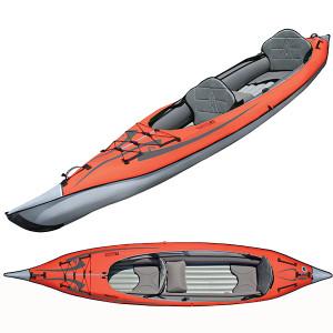 Advanced Elements Inflatable Tandem Kayak