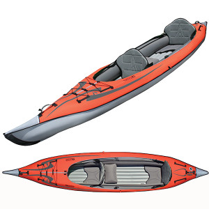 Updated AdvancedFrame Convertible Kayak