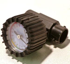 AirKayaks pressure gauge