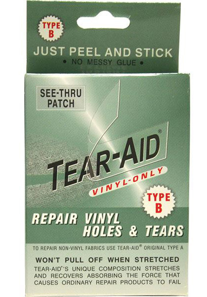 tear aid type b instructions