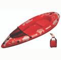 The ultralight 4lb Advanced Elements PackLite kayak.