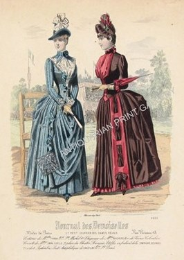 Fashion Plate Illustration