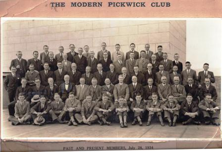 The Adelaide Modern Pickwick Club, 1934