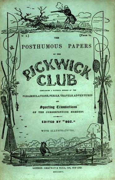 Title Page of The Pickwick Papers, 1937