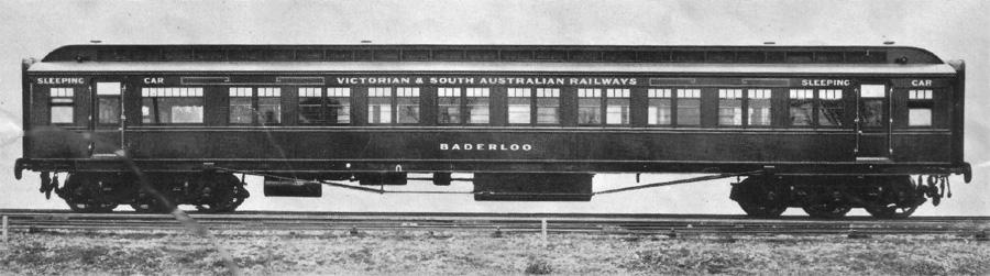 Victoian & South Australia Railways, Baderloo