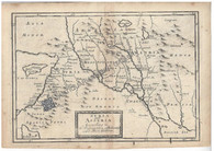 """Syria and Assyria According to the Description of Ptolomy"" Christopher Browme 1725"