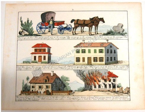 """""""Pictorial Lessons on Form, Comparison & Number"""" Early teaching tools employing everday life...."""