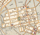 Detail of North Adelaide, the northern section of Colonel William Light's Plan of the prototype colony.