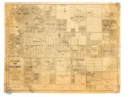 "Map Limited Edition Archival "" Plan of the Eastern Suburbs of Adelaide"" South Australia by Robert Frearson circa 1913"