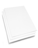 8.5x11 Conservation White Mounting Board