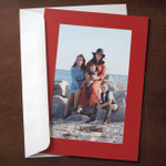 Red Photo Insert Cards - 10 Pack