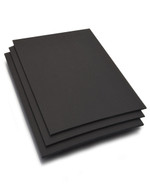 "18x18 SQUARE Foam Board 3/16"" - Black"