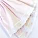 Crib Skirt in Celeste & Primel with Elephant & French Ribbon