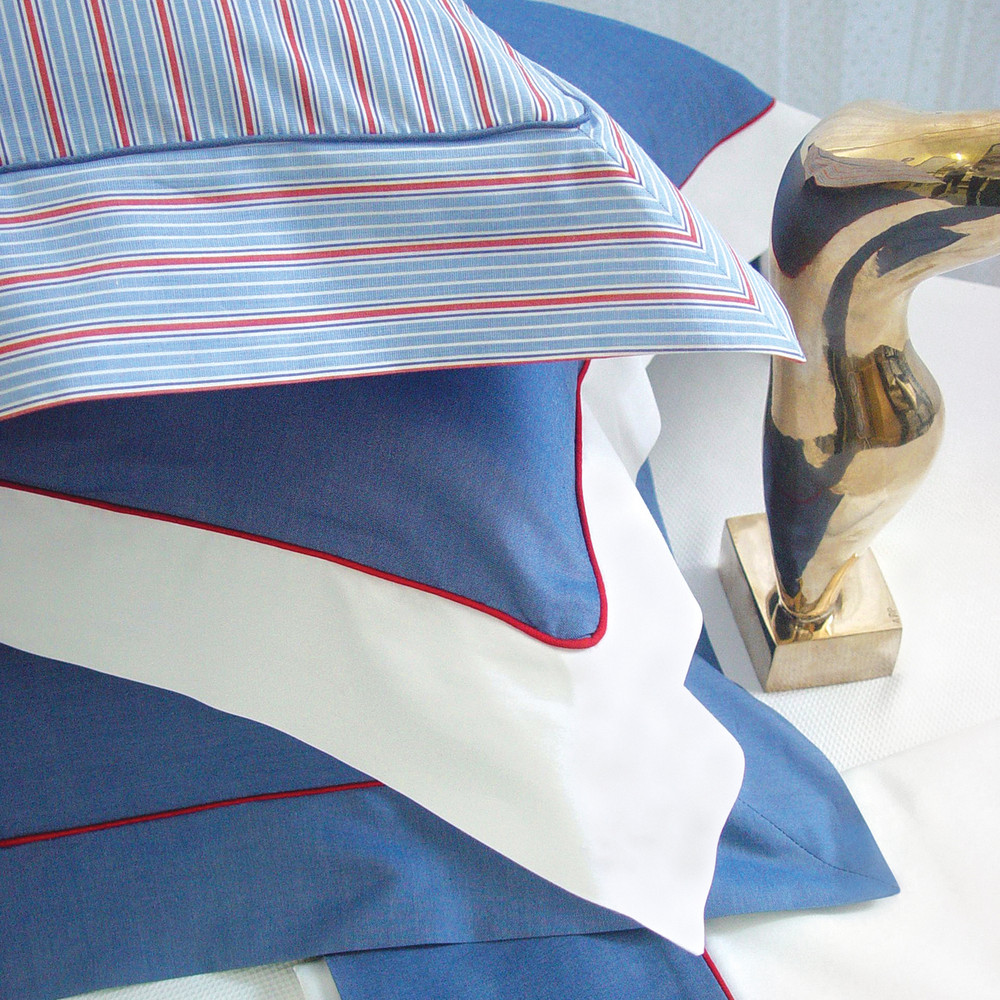 Elegant 100% cotton 'Pinpoint Oxford'  & red, white & blue 'Americana' for teen aged boys