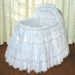 """Natasha"" Bassinet Ensemble"