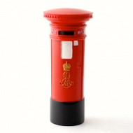 Red Edwardian Post Box