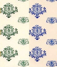 3 Sheets Of Byron & Shelley WallPaper Choice of Two Colours