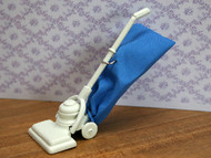 White & Blue Vacuum Cleaner