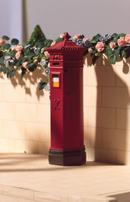 Red Victorian Postbox