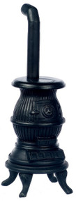 Black Pot Belly Stove