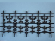 4 Panel Ornate Plastic Railing / Fence