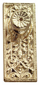 Brass Ornate Door Knobs Pack Of Four