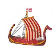 Model Ship 7 Viking Boat