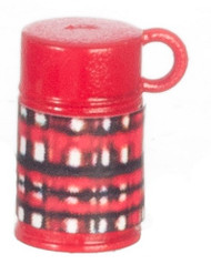 Plaid Thermos Flask