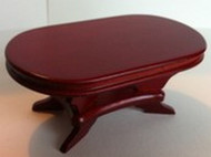 Mahogany Table Oval