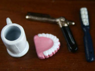 False Teeth & Razor Set