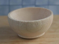 Small Wooden Bowl 3cm Diameter