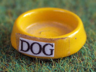 Dog Bowl in Yellow