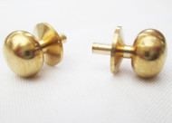 Pair of Brass Door Knobs 5mm