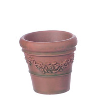Dolls House Large Victorian Pot / Planter Terracotta