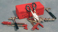Set of Tools with Tool Box